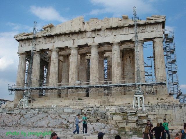 Acropolis Greece by Jen Syngkit