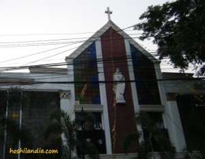 Our Lady of Mt. Carmel Parish facde