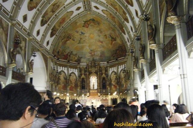 San Beda College Benedictine Abbey Church altar
