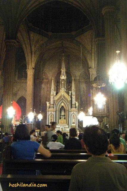 San Sebastian Shrine altar
