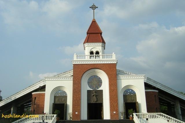 Santuario De San Vicente Paul facade
