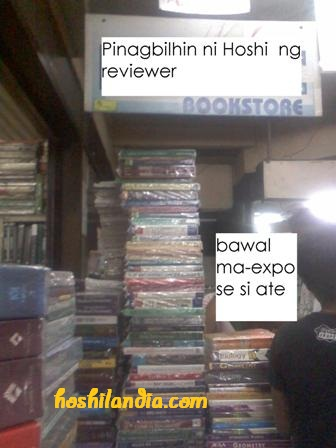 second hand bookstore, recto avenue