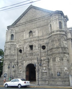Malate Church Facade