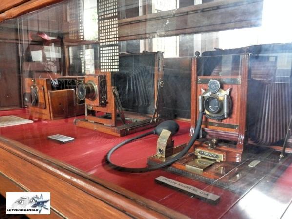Old Cameras sa Camera Museum , Taal Batangas