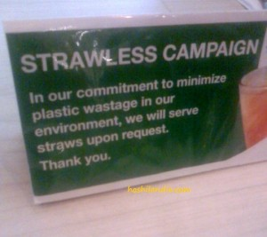 Eco-friendly campaign