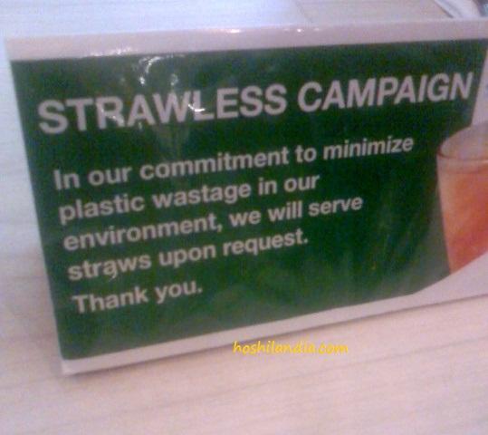 Eco-friendly campaign