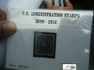 US Administration Stamp by Hitokirihoshi