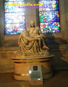 Pieta at Manila Cathedral