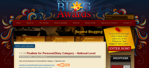 List of finalists - Philippine Blog Awards
