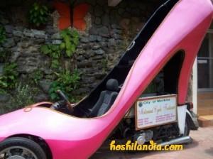 Pink Shoe Car