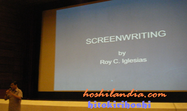 Screenwriting by Roy Iglesias