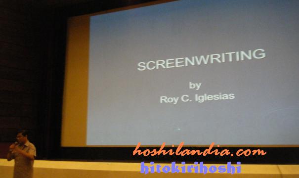 Screenwriting by Roy Iglesias