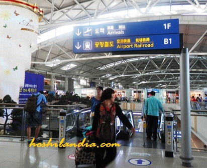 Incheon Airport,, South Korea