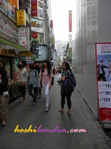 Myeungdong Market, South Korea