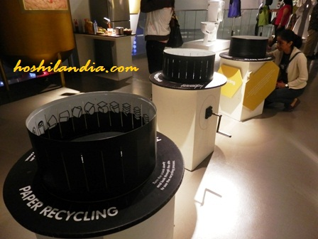 Paper Recycling System - The Mind Museum