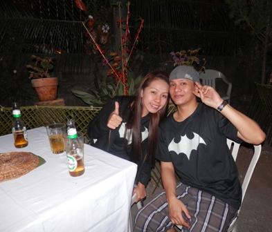 customers Kai and Aki Macarrubo