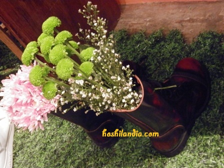 Garden for fashionistas and tripper