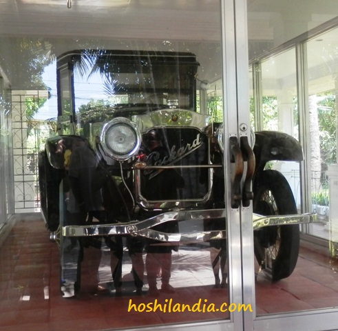 Vintage Car of Gen. Aguinaldo