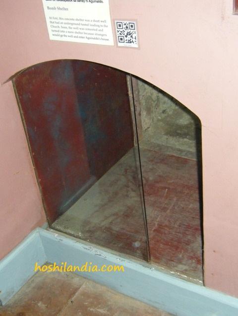 Aguinaldo Shrine - Bomb Shelter Tunnel
