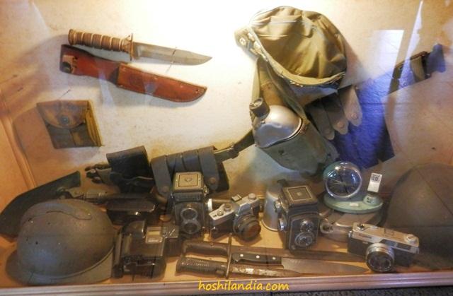 Old cameras in a resto somewhere in Cavite