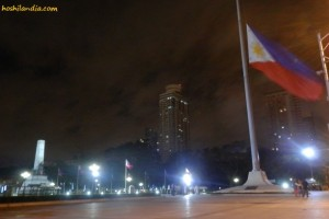 Huge Philippine Flag at Luneta Park