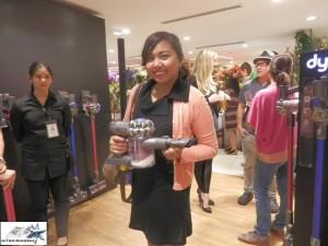Cristal  Maramag models Dyson Vacuum Cleaner