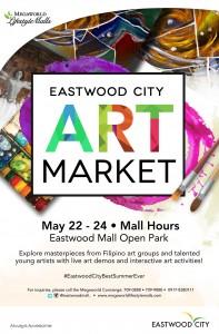 Eastwood City Art Market Poster