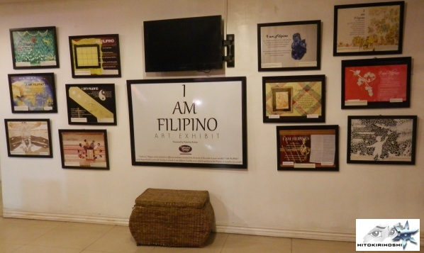 Mabuhay Restop's I Am Filipino Art Exhibit