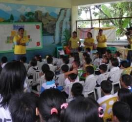 Sinag Foundation Brigada Eskwela Payatas  Elementary School Annex B 2