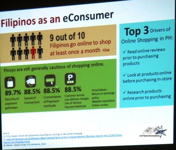 a slide show shared at Ecommerce Summit  (by Mannix Pabalan?)