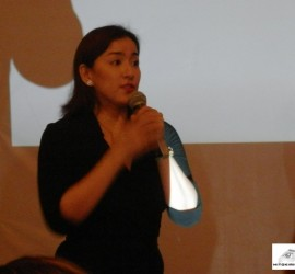 Actress - Entrepreneur Ara Mina demonstrated her products