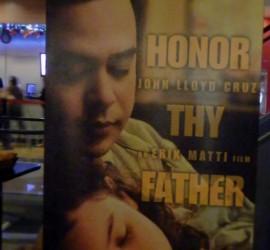 Honor Thy Father john lloyd cruz