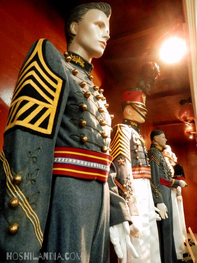 Baguio PMA Museum uniforms of Cadete