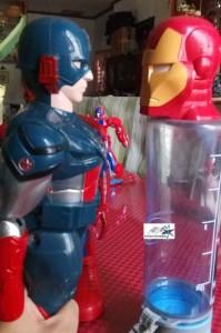 Captain America  v Iron Man by Hitokirihoshi