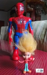 Spiderman toy  by Hitokirihoshi