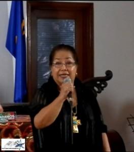 Veteran actress-Radio Drama personality Vangie Labalan