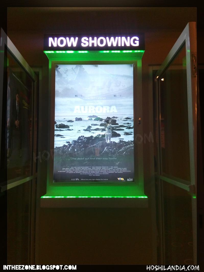Movie poster of Aurora film at Fairview Terraces