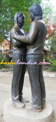 winter sonata statue nami island