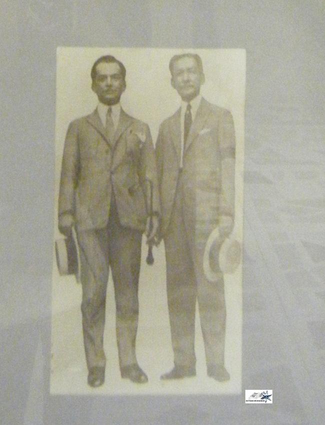 Sergio Osmeña and Manuel L. Quezon