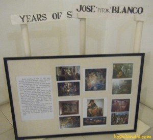 years of Jose Pitok Blanco
