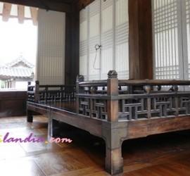 pagmamahal sa korean traditional bed Hanok