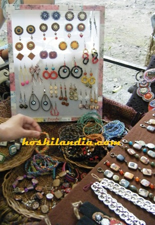 Accessories made in recycled materials  at 10 alabam street art fair