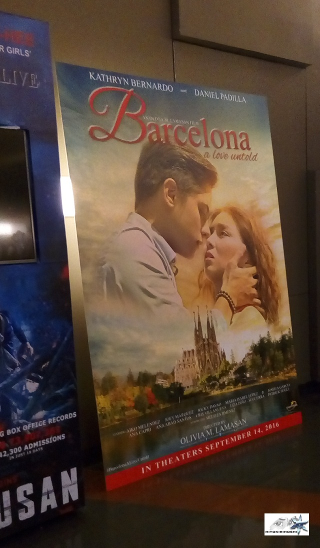 Barcelona A Love Untold move poster