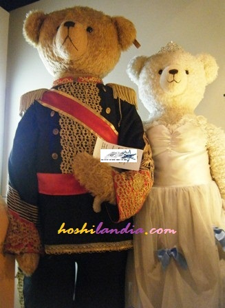 Princess Hours Teddy Bears sa Teddy Bear Museum sa South Korea