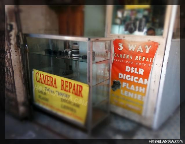 Camera Repair Services in Hidalgo Street, Quiapo
