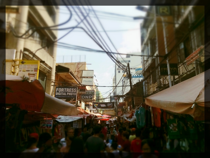Hidalgo Street sa Quiapo, Manila