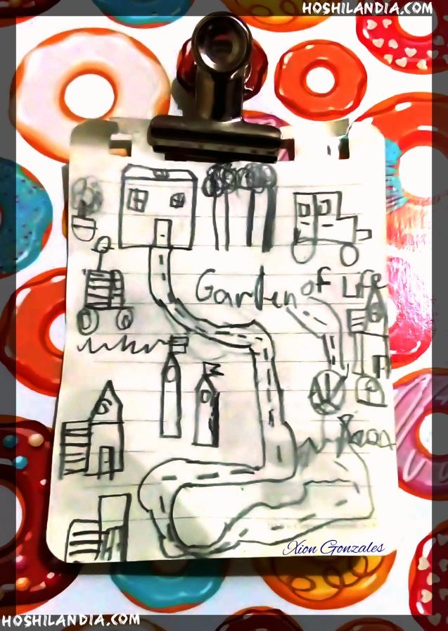 sketch g pamangkin ko papuntang school nila