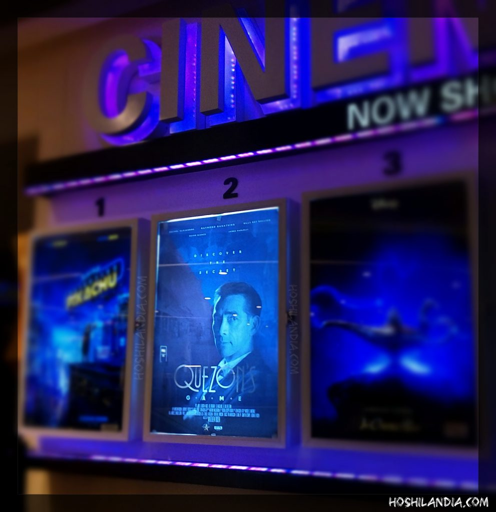 Quezon's Game movie poster in Fairview Terraces