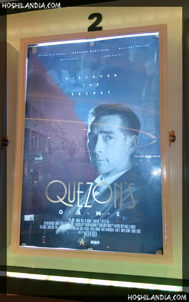 Quezon's game movie poster