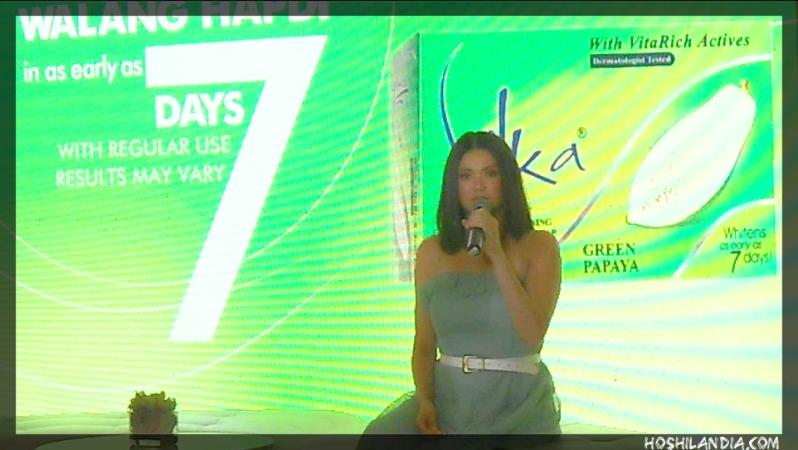 angelica panganiban on tiis ganda at #silkagreenlaunch